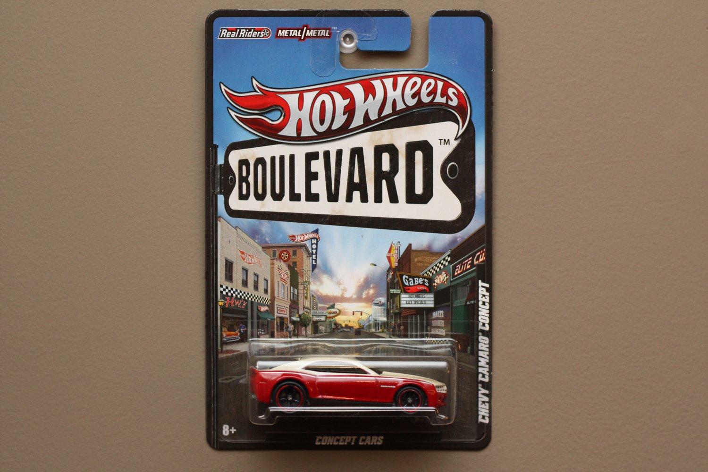 Hot Wheels Boulevard Case A Chevy Camaro Concept