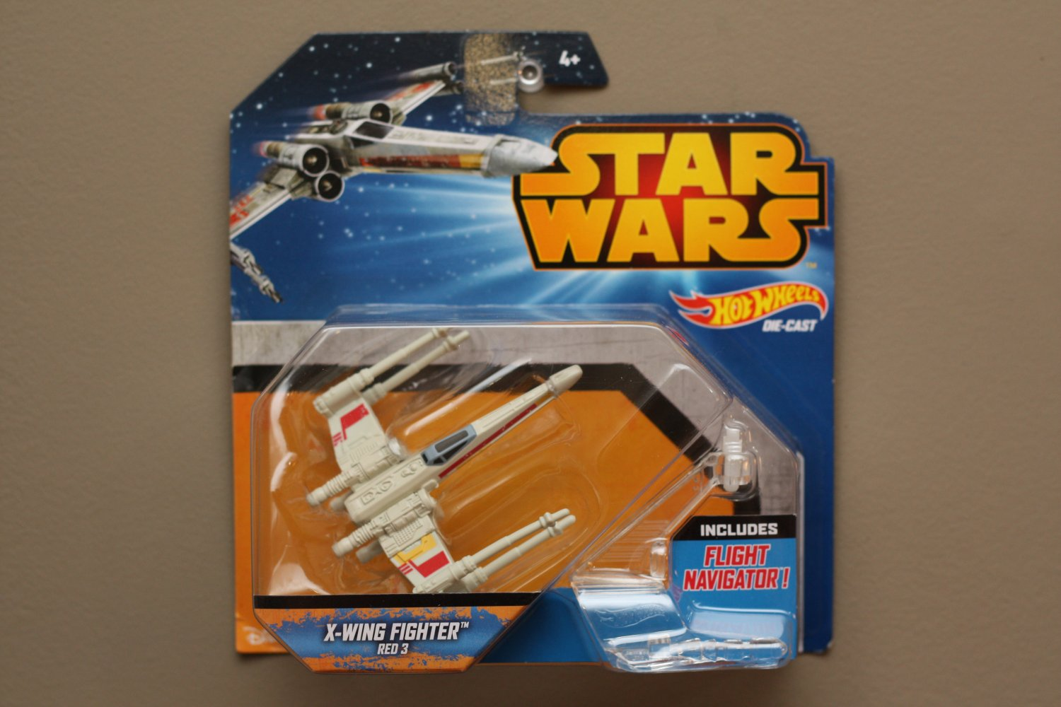 Hot Wheels 2015 Star Wars Ships X-Wing Fighter (Red 3)