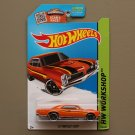Hot Wheels 2015 HW Workshop '67 Pontiac GTO (orange - Toys R Us Excl.) (SEE CONDITION)