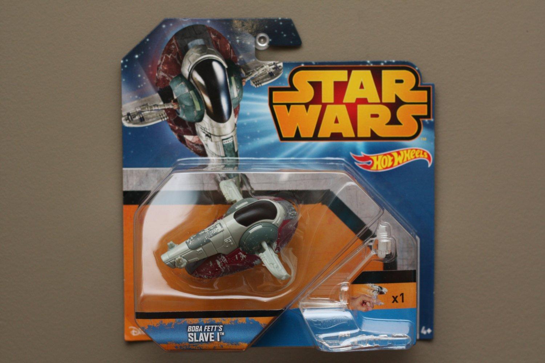 Hot Wheels 2015 Star Wars Ships Boba Fett's SLAVE I