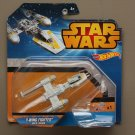 Hot Wheels 2015 Star Wars Ships Y-Wing Fighter (Gold Leader)