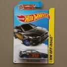 Hot Wheels 2015 HW Off-Road 2008 Mitsubishi Lancer Evolution (black) (SEE CONDITION)