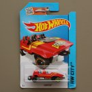 [WHEEL ERROR] Hot Wheels 2015 HW City Loopster (red) (hands down variation) (SEE CONDITION)