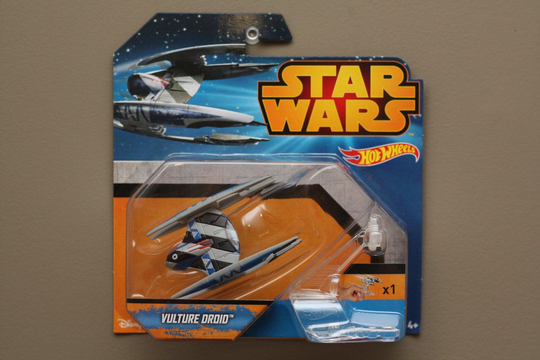 Hot Wheels 2015 Star Wars Ships Vulture Droid