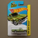 Hot Wheels 2015 HW Off-Road Datsun 620 (green) (SEE CONDITION)