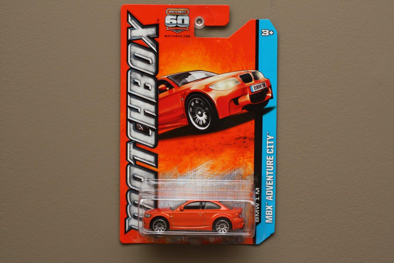 Matchbox 2013 MBX Adventure City BMW 1 M (orange)