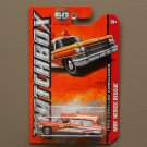 Matchbox 2013 MBX Heroic Rescue 1963 Cadillac Ambulance (orange)