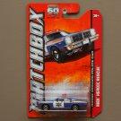 Matchbox 2013 MBX Heroic Rescue '78 Dodge Monaco Police Car (blue)