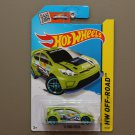 Hot Wheels 2015 HW Off-Road '12 Ford Fiesta (green)