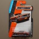 Matchbox 2014 MBX Adventure City '68 Ford Mustang GT/CS (copper)