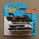 Hot Wheels 2015 HW City Batmobile (Batman: The Brave And The Bold) (black) (SEE CONDITION)