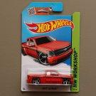 Hot Wheels 2015 HW Workshop Chevy Silverado (red)