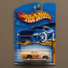 Hot Wheels 2001 Turbo Taxi Series '57 T-Bird (yellow)