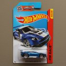[MISSING TAMPO ERROR] Hot Wheels 2015 HW Race Aston Martin Vantage GT3 (blue)