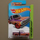 Hot Wheels 2015 HW Workshop '78 Dodge Li'l Red Express Pickup Truck (magenta)