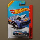 Hot Wheels 2014 HW Race Twinduction (blue) (Treasure Hunt) (SEE CONDITION)