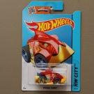 Hot Wheels 2015 HW City Piranha Terror (red) (Treasure Hunt)