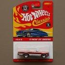 Hot Wheels 2008 Classics Series 4 '67 Pontiac GTO Convertible (orange)