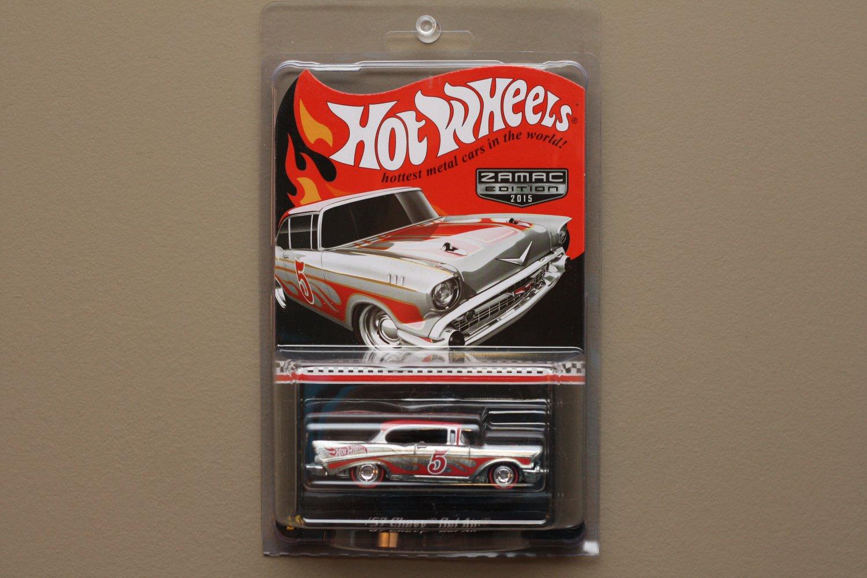 Hot Wheels 2015 Zamac Collectors Edition 57 Chevy Bel Air