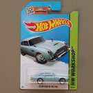 Hot Wheels 2015 HW Workshop Aston Martin 1963 DB5 (pearlescent blue)