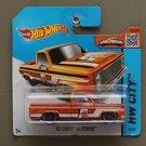 Hot Wheels 2015 HW City '83 Chevy Silverado (orange) (SEE CONDITION)