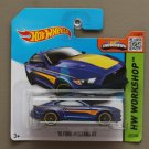 Hot Wheels 2015 HW Workshop '15 Ford Mustang GT (blue) (SEE CONDITION)