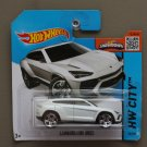 Hot Wheels 2015 HW City Lamborghini Urus (white) (SEE CONDITION)