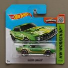 Hot Wheels 2015 HW Workshop '68 COPO Camaro (green) (SEE CONDITION)