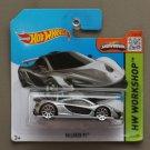 Hot Wheels 2015 HW Workshop McLaren P1 (silver) (SEE CONDITION)