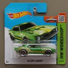 Hot Wheels 2015 HW Workshop '68 COPO Camaro (green)