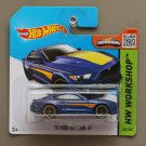 Hot Wheels 2015 HW Workshop '15 Ford Mustang GT (blue)