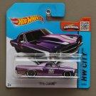 Hot Wheels 2015 HW City '71 El Camino (purple)