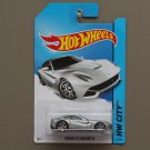 Hot Wheels 2014 HW City Ferrari F12 Berlinetta (silver) (SEE CONDITION)