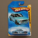 Hot Wheels 2009 HW Premiere Datsun Bluebird 510 (blue) (SEE CONDITION)