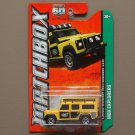 Matchbox 2013 MBX Explorers Land Rover Defender 110 (yellow)