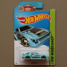 Hot Wheels 2015 HW Workshop Mazda RX-7 (turquoise - Kmart Excl.)