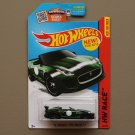Hot Wheels 2015 HW Race '15 Jaguar F-Type Project 7 (green)