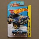 Hot Wheels 2015 HW Off-Road Subaru Brat (blue) (SEE CONDITION)