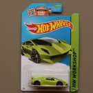 Hot Wheels 2015 HW Workshop Lamborghini Sesto Elemento (green) (SEE CONDITION)