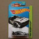 Hot Wheels 2015 HW Workshop Custom '12 Ford Mustang (black - Kmart Excl.)