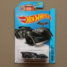 Hot Wheels 2015 HW City Batman Arkham Asylum Batmobile (black) (SEE CONDITION)