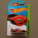 Hot Wheels 2015 HW Workshop Toyota Supra (red) (SEE CONDITION)