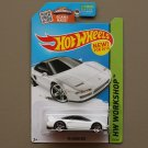 Hot Wheels 2015 HW Workshop '90 Acura NSX (white) (SEE CONDITION)