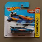 [UN-SPUN ERROR] Hot Wheels 2015 HW Off-Road Ice Shredder (Bob-Sled) (blue)