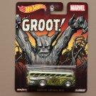 Hot Wheels 2015 Pop Culture Marvel Surfin' School Bus (Groot)