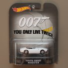 Hot Wheels 2015 Retro Entertainment Toyota 2000 GT Roadster (James Bond 007)