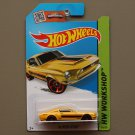 Hot Wheels 2015 HW Workshop '68 Shelby GT-500 (yellow)