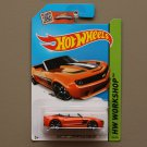 Hot Wheels 2015 HW Workshop Camaro Convertible Concept (orange)