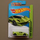 Hot Wheels 2015 HW Workshop Lamborghini Sesto Elemento (green)