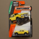 Matchbox 2015 MBX Explorers Lamborghini LM002 (yellow)
